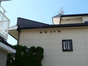 函館市港町で屋根形状変更工事