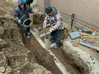 排水管の交換