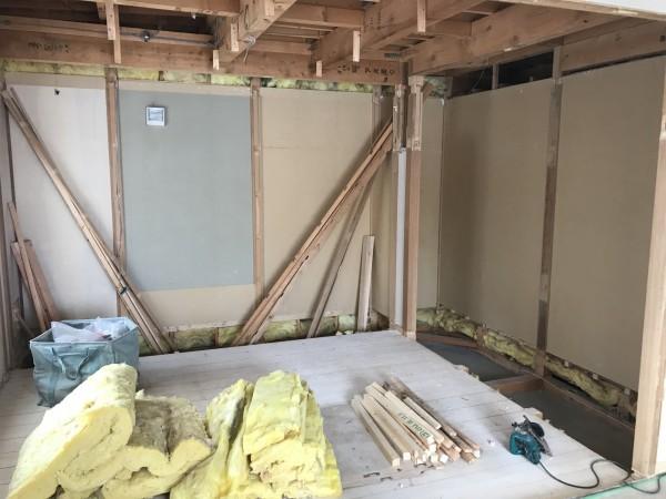 工事開始の写真