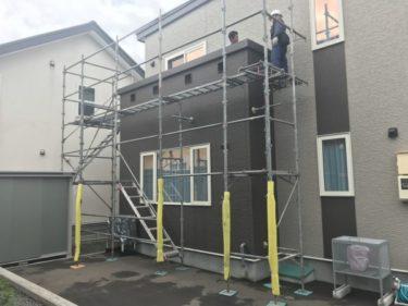 函館市桔梗町の保険適用の雨漏り修繕工事