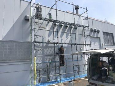 函館市柏木町のホリデースポーツセンター(運動施設)の屋根雨漏りと壁雨漏りで女子サウナ漏水修繕工事