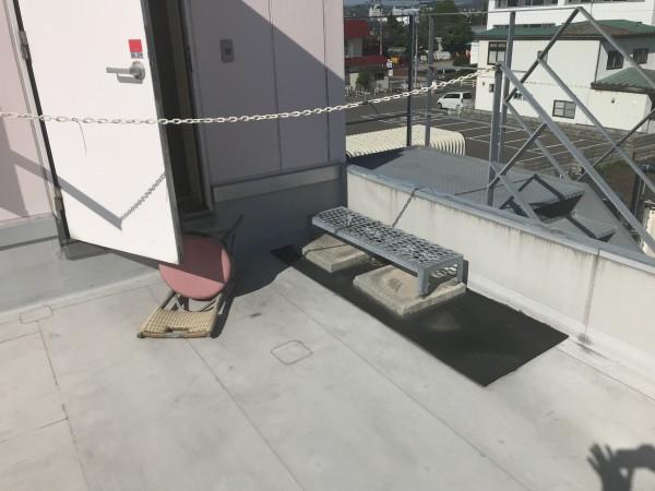 他の防水シートの破損