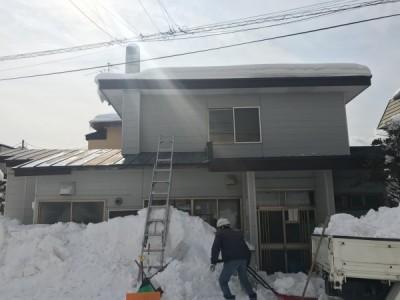 雪下ろし完了