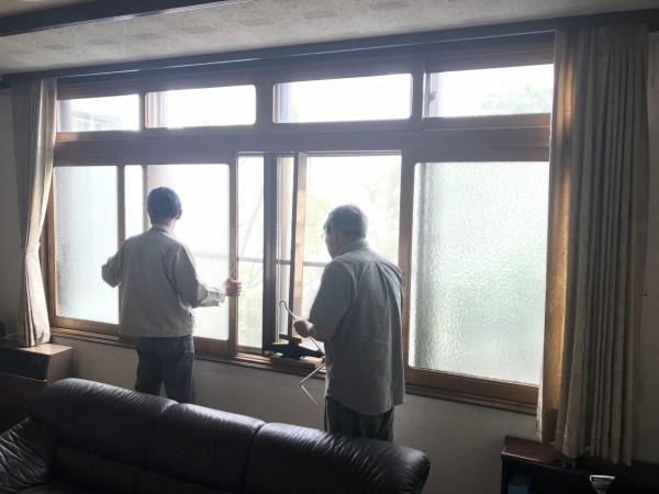 建具調整の現場調査