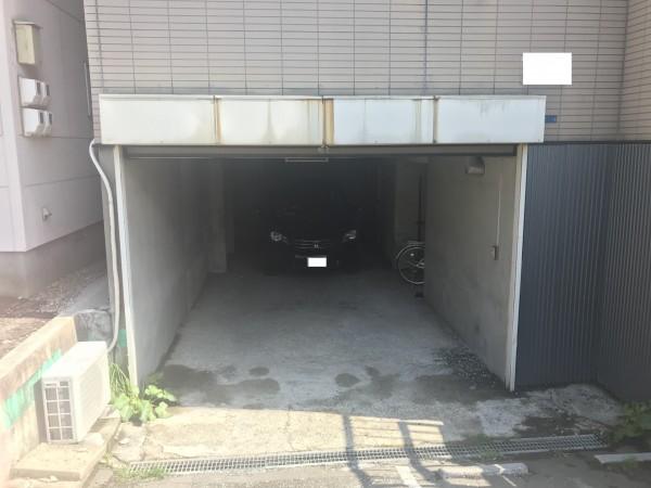 工事前のシャッター