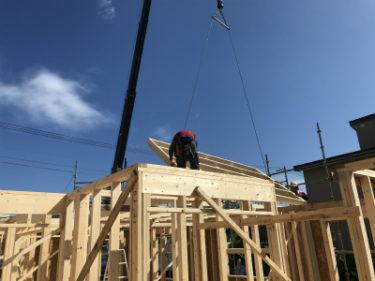 函館市駒場町の新築住宅平屋建ての建て方