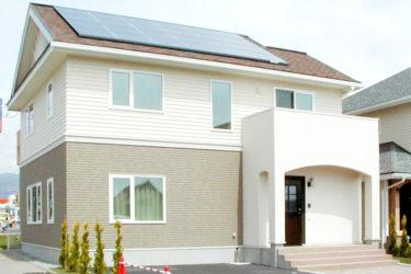 太陽光発電を搭載した家(函館市美原)
