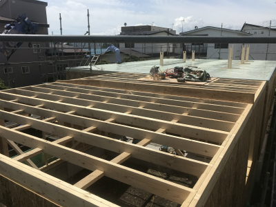 新築住宅平屋建て 建て方