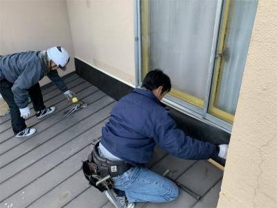 外壁トタン補修工事