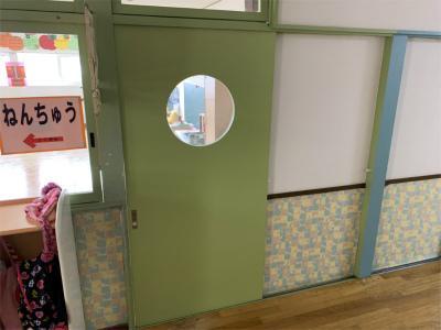 調整対象の扉