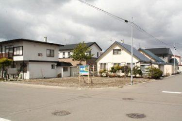 函館市東山2丁目(南向き)