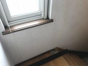 手摺設置前の階段