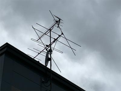 テレビアンテナ交換工事