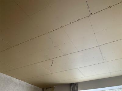 断熱工事後の天井