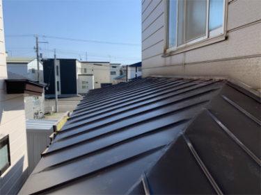 函館市千代台町の屋根修繕工事