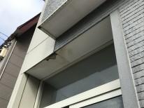 軒天井貼り替え前