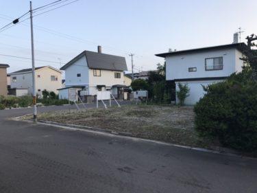 函館市東山で草刈り