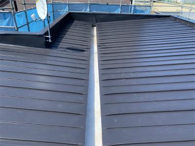 屋根トタン葺替え完成