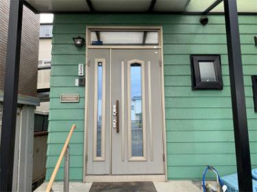函館市柏木町の玄関扉と窓の交換工事