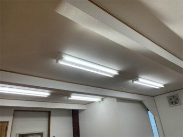 クロス貼り替え後の天井