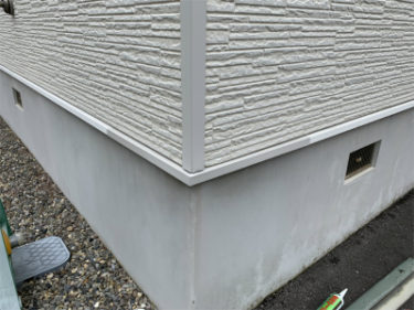 函館市日乃出町の土台水切り修繕工事