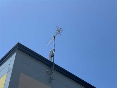 テレビアンテナ交換工事完成