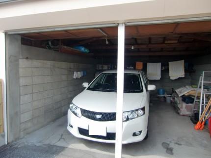 改築前の車庫