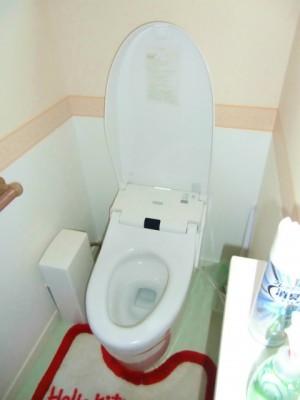 改修前のトイレ