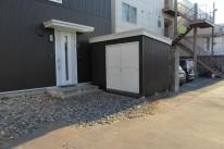 函館市堀川町で物置造作