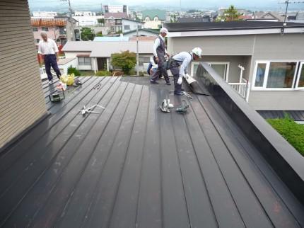 現状の屋根