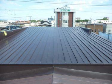 函館市万代町の屋根雨漏り修理