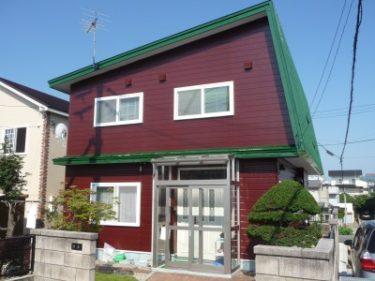 函館市榎本町の外壁及び屋根塗装工事