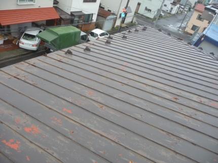 本屋の屋根