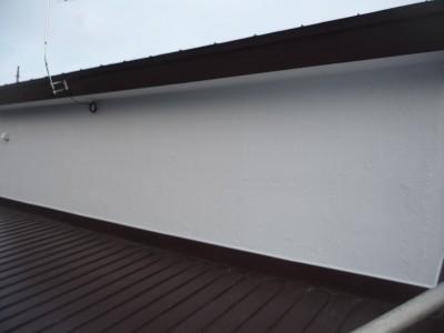 防水塗装後の外壁