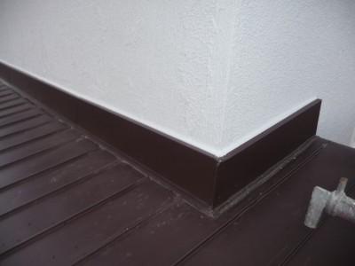 壁劣化の防止の屋根トタン