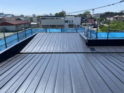 屋根トタン葺替え完了