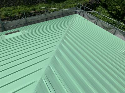 完成 屋根