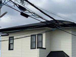 屋根軒樋取付交換及び雪止め取付工事