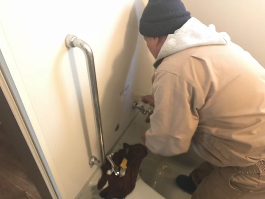 水栓取り換え工事