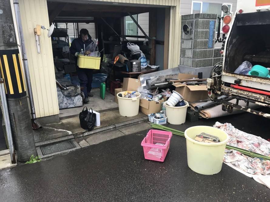ゴミの搬出