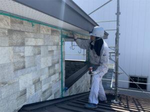 函館市追分町の屋根外壁塗装 工事