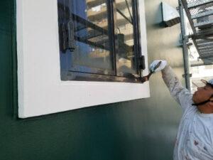 函館市末広町にある外壁改修工事 雨漏れ工事