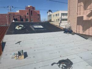 函館市大手町にある住宅の屋根葺き替え工事